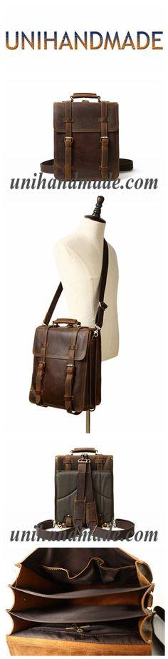 Rustic Leather Rucksack Backpack Messenger Bag Sling Shoulder Bag YD8062