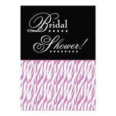 Ask your girls to be with you on your special day with Modern bridal party proposal cards from Zazzle! Pink Zebra, Bridal Shower Invitations, Special Day, Proposal, Line Art, Invite, Announcement, Bridesmaids, Girly