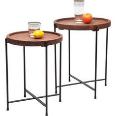 Tables d appoint Slim Line Quattro (set de 2)
