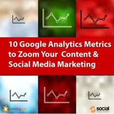 10 Google Analytics Metrics to Zoom Your Social Media Marketing, Blog and Content