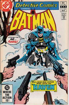 Detective Comics 514 1937 1st Series   May 1982  DC