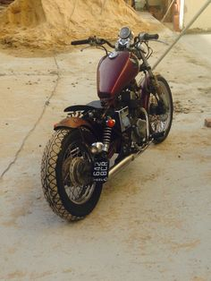 Take a look at a handful of my most popular builds - unique scrambler concepts… - car interior design - Helen Thomas Bobber 250, Honda Rebel 250 Bobber, Virago Bobber, Virago 535, Honda Bobber, Sportster Motorcycle, Bobber Bikes, Custom Bobber, Bobber Chopper