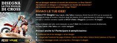 - Hai un tatuaggio dedicato al mondo del motocross o a Tony Cairoli?  - Hai realizzato un disegno o un'immagine sul mondo del motocross?  - Hai in mente una nuova grafica per il logo TC222?    INVIACI LE TUE IDEE ed entro l'11 Giugno Tony Cairoli e Alle Tattoo (Guinness World Record 2012, Ink Awards 2012)  giudicheranno le immagini e i tatuaggi più belli e i vincitori saranno invitati come ospiti del campionissimo al MXGP d'Italia a Maggiora il prossimo 16 Giugno!