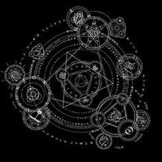 Universal Magic Circle by ~Xyee / Sacred Geometry <3