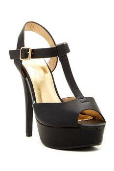 Elegant Footwear Kaliny Heeled Sandal