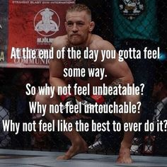 At the end of the day you gotta feel some way. So why not feel unbeatable? Why not feel untouchable?Why not feel like the best to ever do it? Run It Out