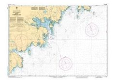 CHS Nautical Chart 4211: Cape Lahave to/à Liverpool Bay