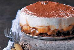 Lindt A Cuisiner & l'Atelier des Chefs Chocolat Lindt, Creme Mascarpone, Banoffee, Gluten Free Recipes, Coco, Free Food, Tiramisu, Sweet Recipes, Cheesecake