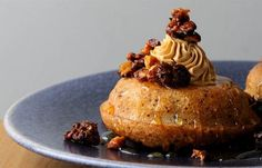 Paul Ainsworth creates a sumptuous financiers recipe where they are paired with homemade angel delight and Limoncello in this decadent recipe