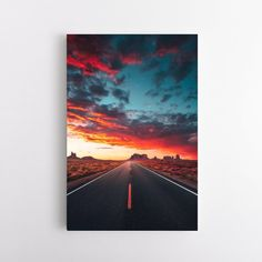 Desert Highway - 40 x 60