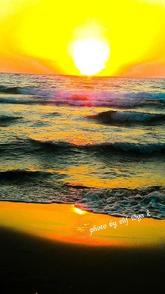 Waves, Sunset, Outdoor, Outdoors, Sunsets, Ocean Waves, Outdoor Games, The Great Outdoors, The Sunset
