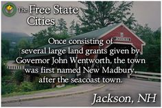 Find out more about Jackson, New Hampshire at our website! http://freestatenh.org/encyclopedia/cities/jackson