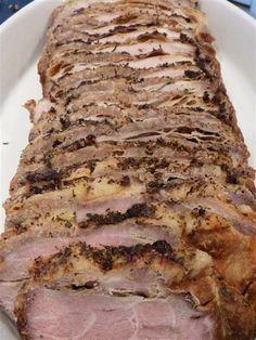 ATK - old fashioned pork roast - 2 day