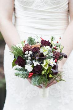 My Winter Wedding flowers.