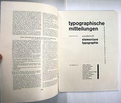 "jan tschichold1925 on ""elemental typography"""