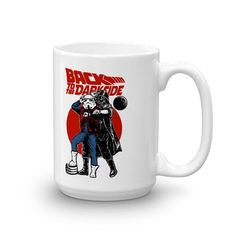 Back To The Future Star Wars Mash Up Coffee Cup Mug