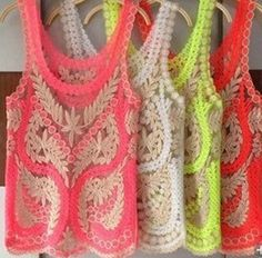 Aliexpress.com : Buy Free Shipping 2013 New Fashion Women Embroidery Floral Lace Crochet Top Blouse Hook Flower Lace Vest Blouse Drop Shipping from Reliable Blouses & Shirts suppliers on Thinkblue $9.25