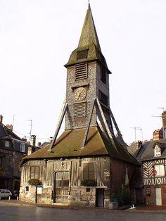 #France ~ Clocher de l'église de Sainte-Catherine, Honfleur