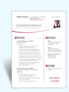 Modele Cv Original Assistant De Direction Exemple Mise