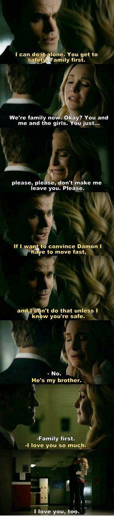 The Vampire Diaries TVD S08E16/Season finale - Steroline