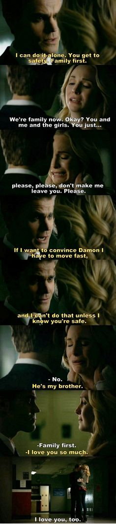 The Vampire Diaries TVD S08E16/Season finale - Steroline