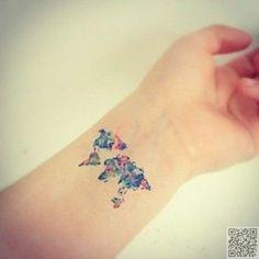 11. #voyages tatouage - 32 #tatouages de poignet #inspirante...