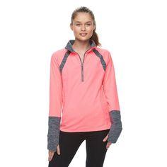 Juniors' SO® 1/2-Zip Fleece Sweatshirt, Girl's, Size: