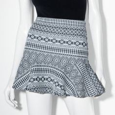 Princess Vera Wang tribal skirt Brand new condition. No flaws. Vera Wang Skirts Mini