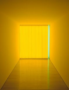 Light sculpture by Dan Flavin