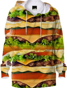 Burger Me! Hoodie - Available Here: http://printallover.me/collections/sondersky/products/0000000p-burger-me-3