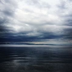 (Late May Lake Champlain in Essex, NY. via virtualdavis Lake Champlain, Quebec, Vermont, Clouds, Ink, Paper, Outdoor, Outdoors, Quebec City