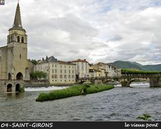 ARIEGE- PHOTOS DE la commune de Saint-Girons