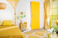 Te Atreves Con Una Habitaci N En Tonos Amarillos Luminosidad Y