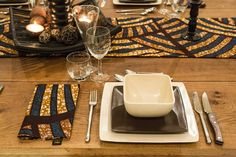 African Prints in Fashion: Interior Design: House of Arike