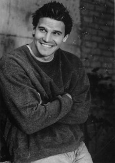 David Boreanaz.he was so wittle in Angel and Buffy