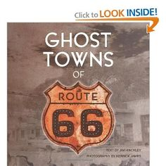 Book for traveling Route 66: Ghost Towns (Book)