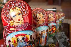 Matryoshka dolls by Señor Don Goat, via Flickr