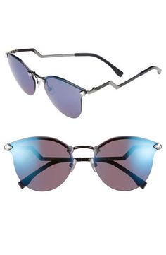 7937476ae1 Fendi 60mm Retro Sunglasses Sunglasses Store