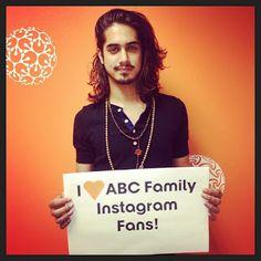 Avan Avan Jogia, Abc Family, Cinema, Movie Posters, Movies, Instagram, Films, Film Poster, Movie