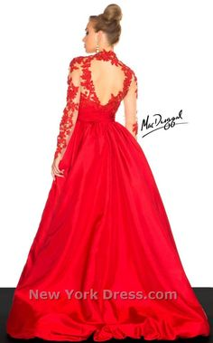 Mac Duggal 61393R Dress - NewYorkDress.com