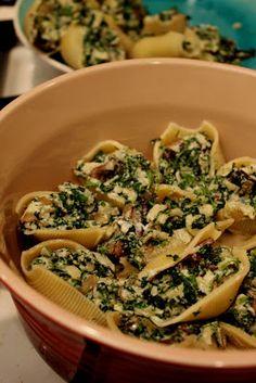 #Vegetarian White #Lasagna Macaroni and Cheese #recipe