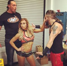 Enzo and Cass and Carmella