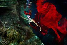 La catrina sirena por la Fotógrafa Sol Tamargo