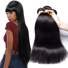 Aliexpress Hair virgin brazilian extension, free weave hair packs brazilian hair weave, wholesale virgin brazilian hair bundle