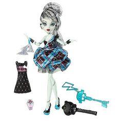 Muñeca Frankie Stein de Monster High  Precio: 31.90€