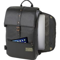 The Hex DSLR Camera Sling Bag may look like a normal backpack at a first glance, however it can easily swing around the shoulder for quick access.