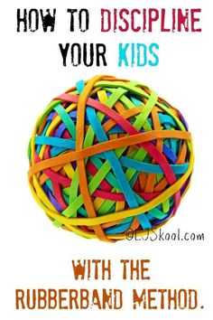 The Original Rubber Band Method - Become a better parent with just 3 rubber bands.