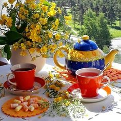 Good Morning Coffee, Good Morning Sunshine, Good Morning Wishes, Beautiful Flowers Pictures, Flower Pictures, Good Night Flowers, Coffee Photos, Coffee Photography, Coffee Cafe