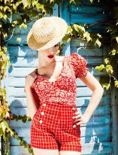 Lena Hoschek - Spring/Summer 2012 Lookbook