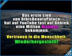 Es gibt noch Hoffnung! #BibisBeautyPalace #HowItIs #Lied #Dislikes #Bibi #Hoffnung #YouTube #BibiH